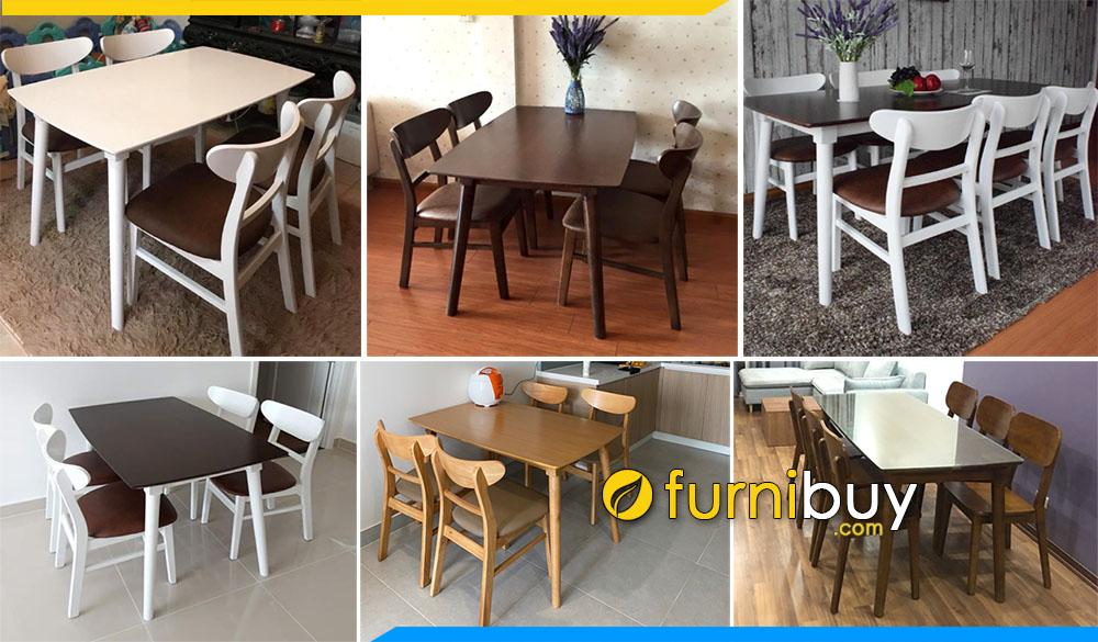 Địa chỉ bán bàn ghế ăn Mango đẹp giá rẻ Hà Nội