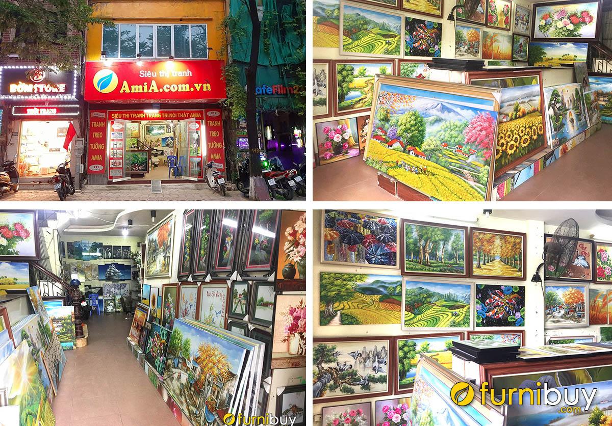 Hình ảnh Cửa hàng bán tranh treo tường đẹp ở Hà Nội