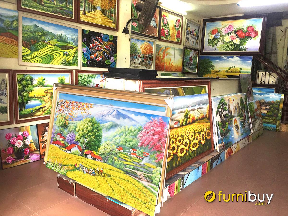 Hình ảnh Cửa hàng tranh treo tường đẹp tại Hà Nội uy tín, giá tốt