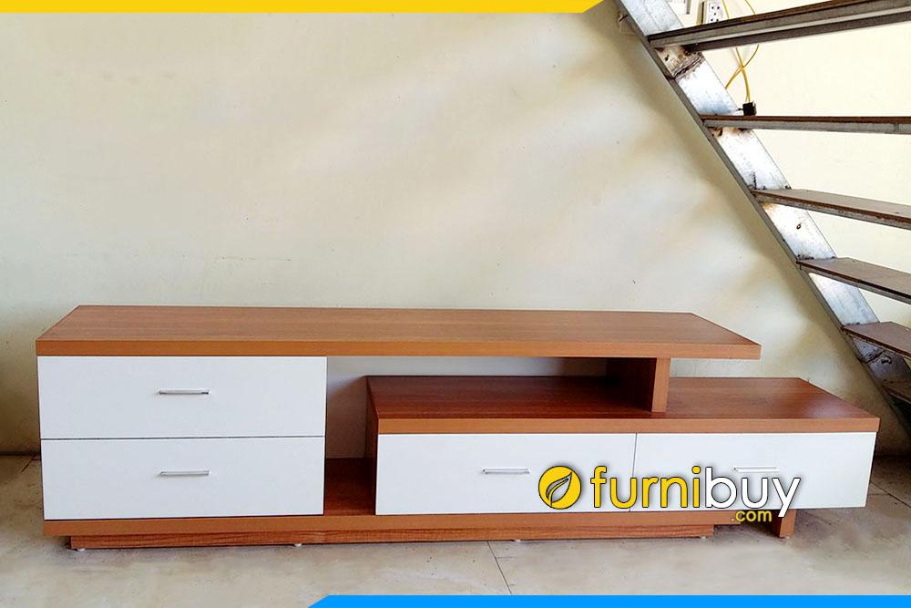 Kệ tivi gỗ đẹp giá rẻ MDF KTV231 thực tế