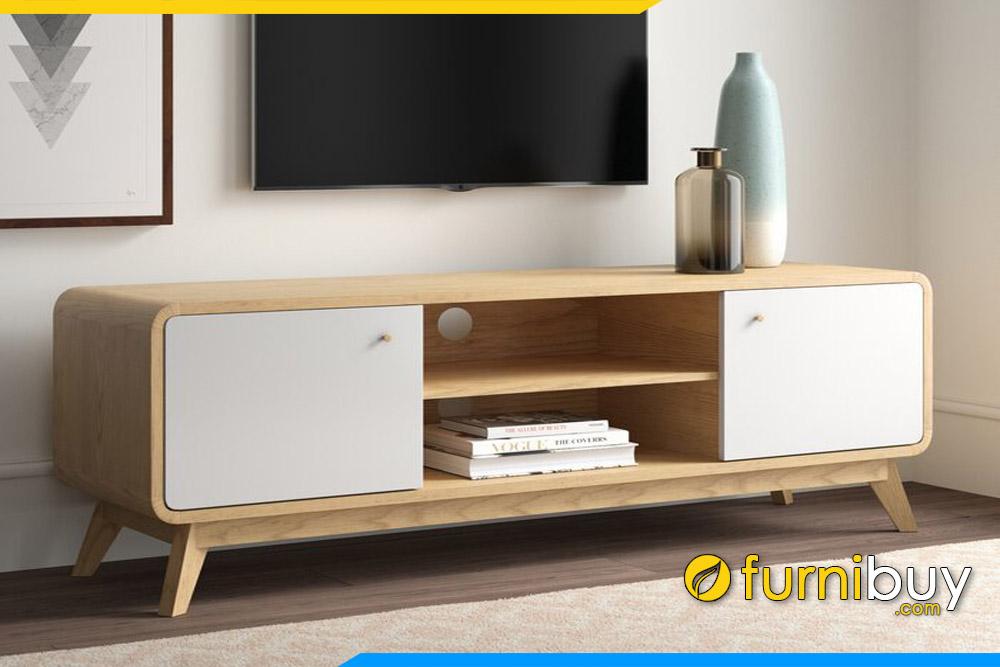 Hình ảnh Kệ tivi gỗ phòng khách đẹp FBK106