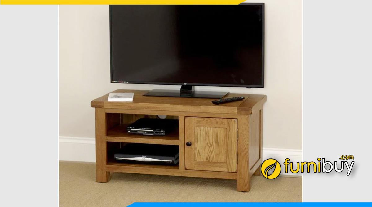 Hình ảnh Mẫu kệ tivi gỗ phòng ngủ đơn giản lại đẹp