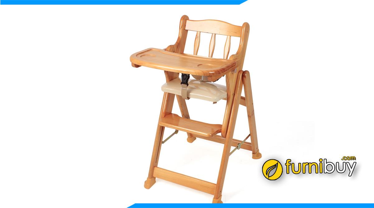 Hình ảnh Mẫu bàn ghế ăn thông minh cho bé nhỏ gọn