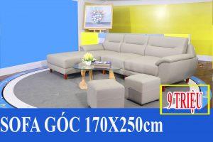 Sofa da góc chữ L FB170701