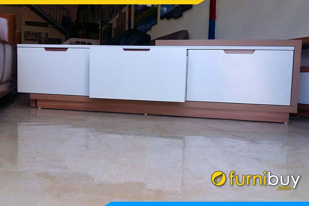 Hình ảnh Mẫu kệ tivi gỗ MDF công nghiệp hiện đại KTV239