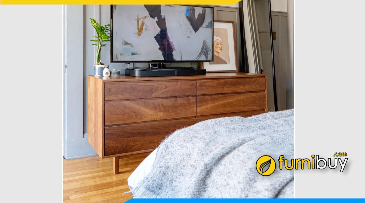 Hình ảnh Kệ tivi phòng ngủ nhỏ cao 70 cm