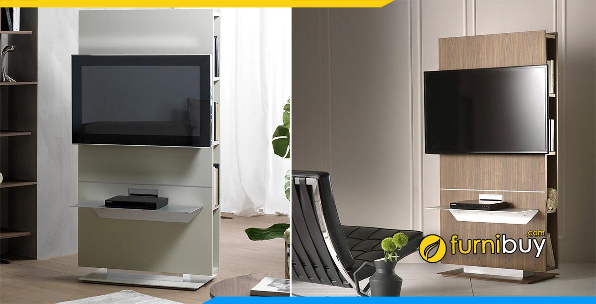 Hình ảnh mẫu kệ xoay tivi đa năng 180 độ cho phòng khách đẹp
