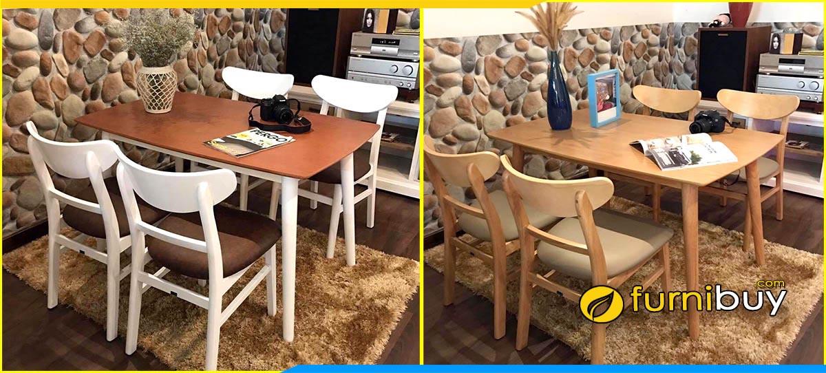Mua bàn ghế ăn mango Hà Nội đẹp giá rẻ