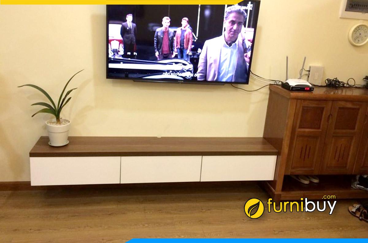Nhược điểm kệ tivi gắn tường phòng khách