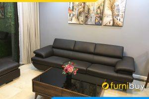 sofa nha chung cu hien dai vang 3 cho ngoi fb257