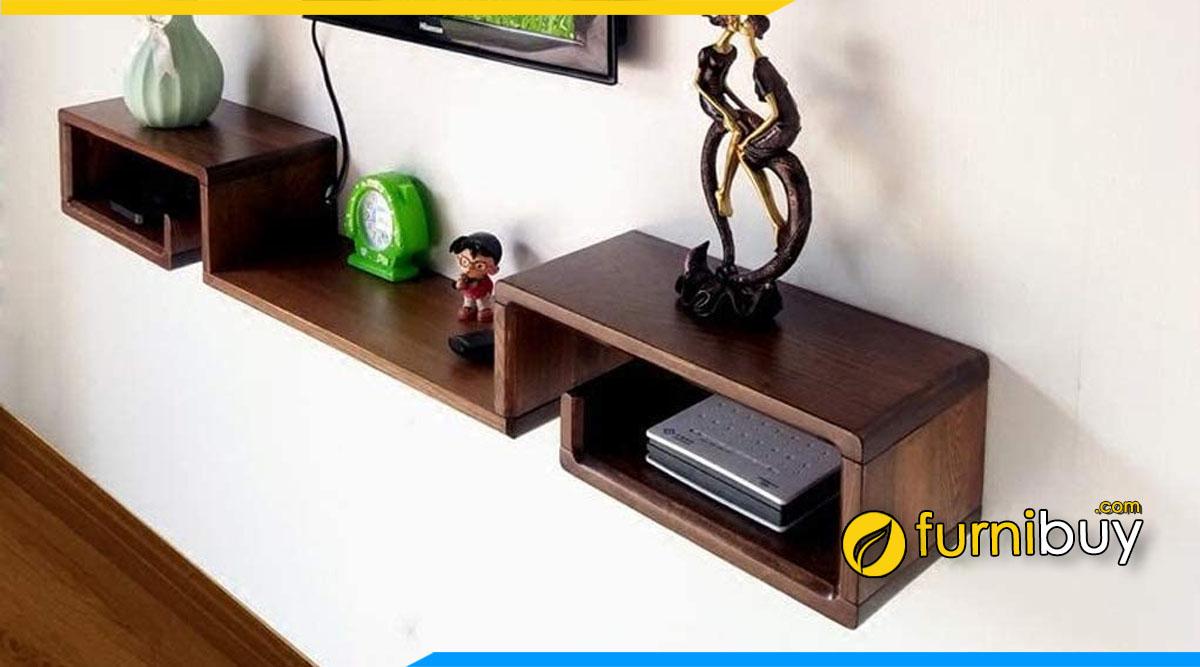 Hình ảnh Kệ tivi phòng ngủ hiện đại giá rẻ hình hộp treo tường