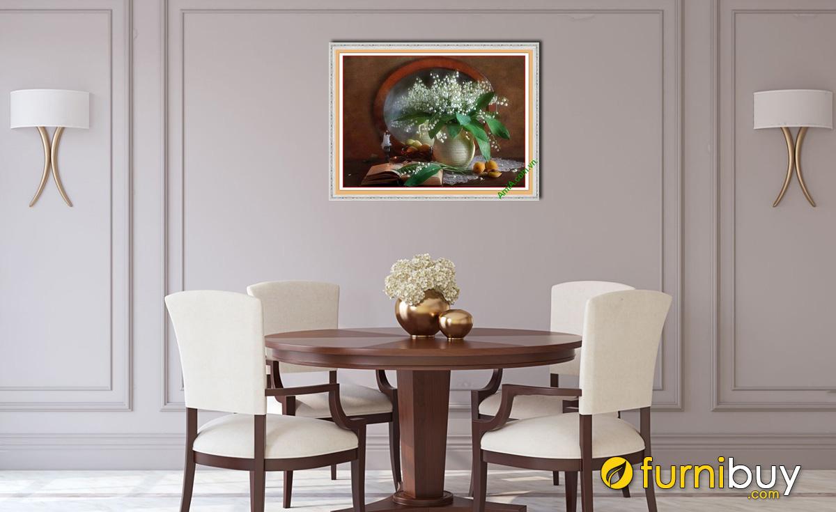 Hình ảnh Tranh phòng ăn đẹp giá rẻ dưới 500k chỉ có tại Furnibuy mã 582