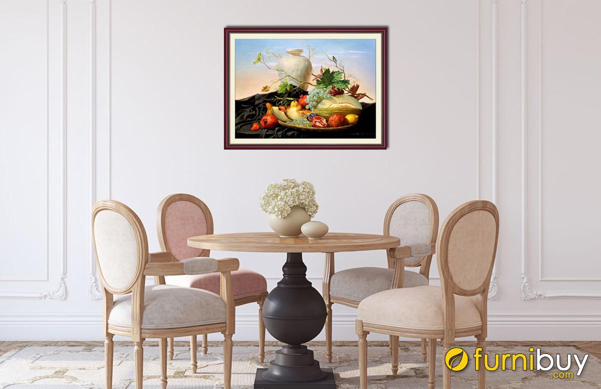 Hình ảnh Tranh treo bàn ăn đẹp giá rẻ dưới 500k bán tại Furnibuy mã 1022