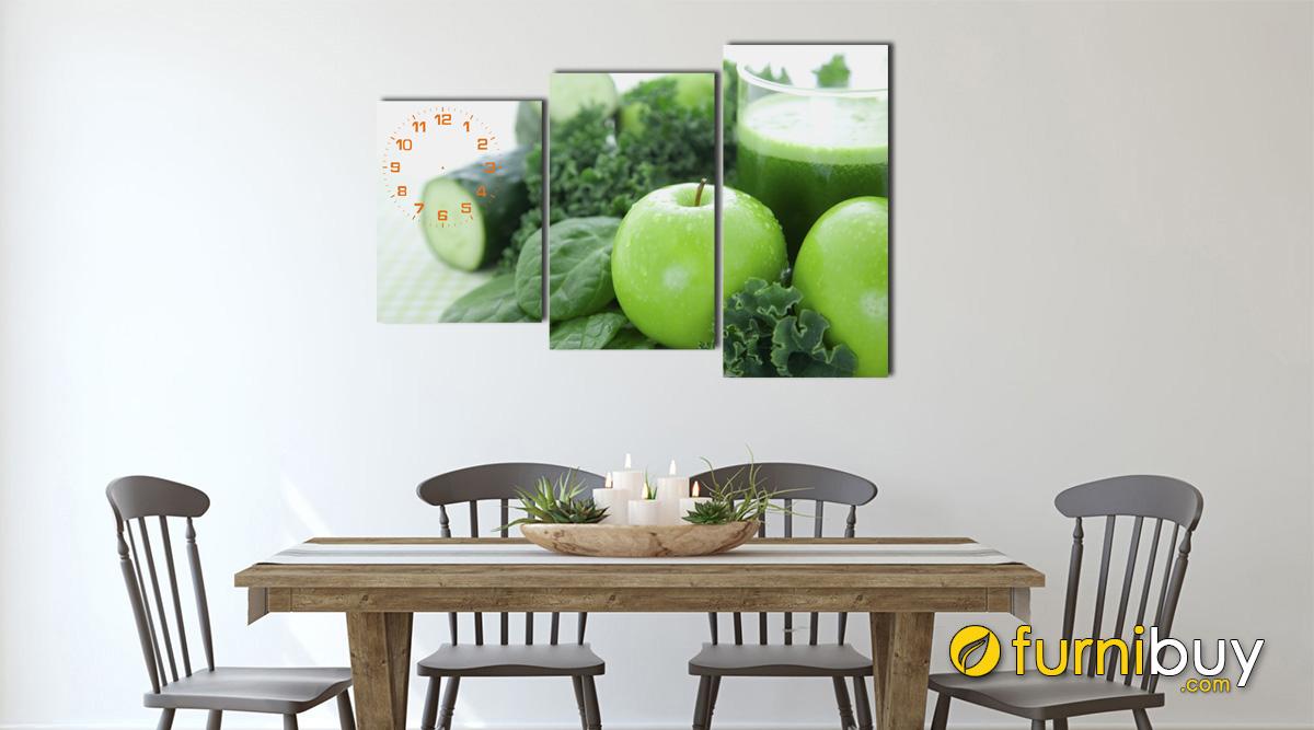 Hình ảnh Tranh treo phòng ăn đẹp hiện đại mã 145