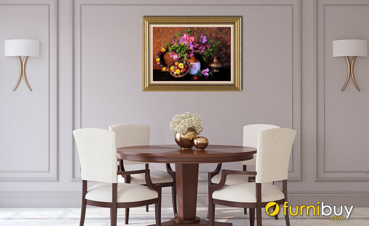 Hình ảnh Tranh treo tường phòng bếp bàn ăn đẹp giá rẻ mã 566