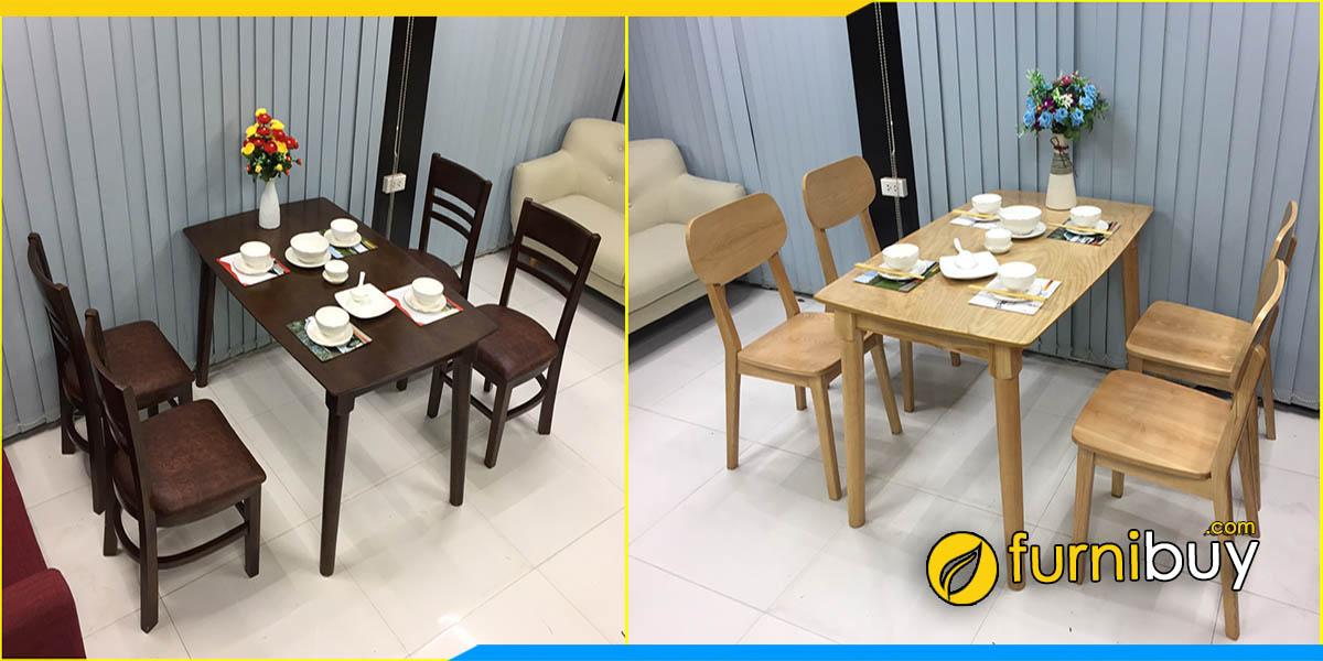 Xưởng đóng bàn ghế ăn giá rẻ theo yêu cầu tại Hà Nội