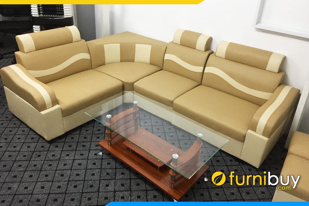 Sofa goc dep gia re ha noi FB029