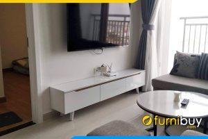 Hình ảnh Kệ tivi phòng khách chung cư đẹp FBK011