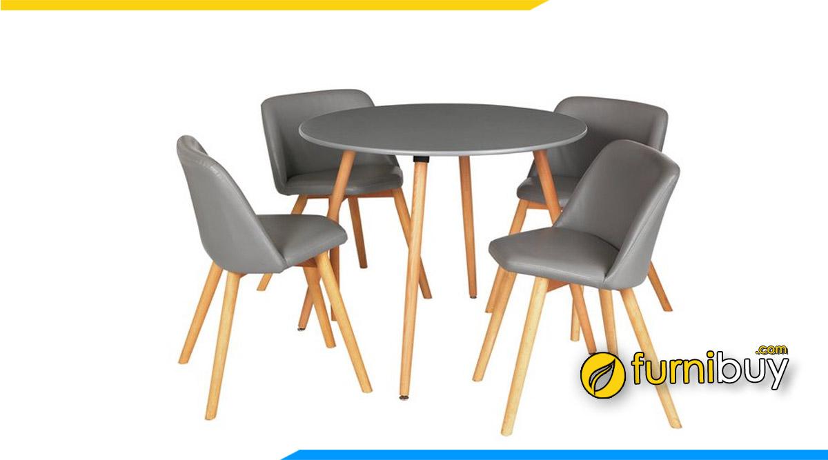 Bàn ghế ăn đẹp Bắc Giang mua tại Furnibuy