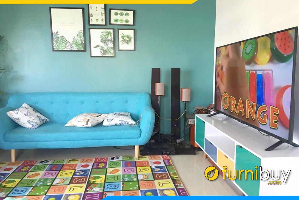 Bán kệ tivi gỗ phòng khách đơn giản FBK010