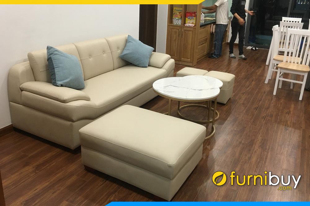 sofa phong khach chung cu gia re dang vang