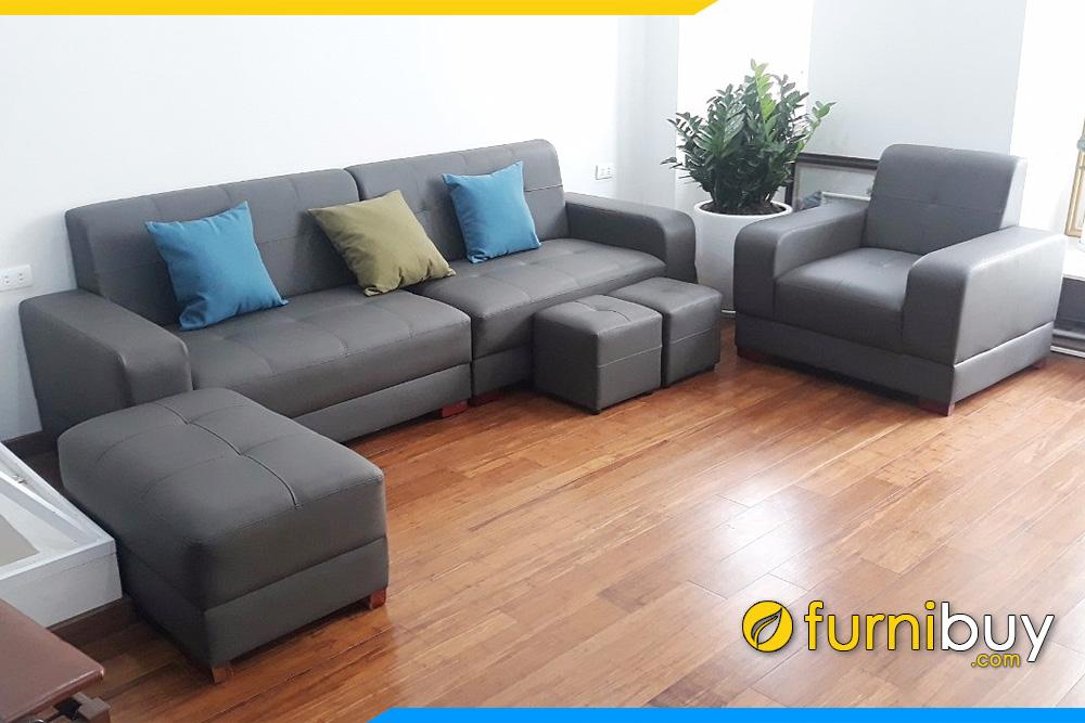 bo sofa da mau den sang trong truyen thong fb205