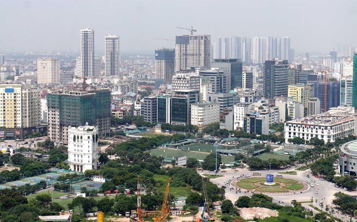 Các khu chung cư ở quận Cầu Giấy, Hà Nội