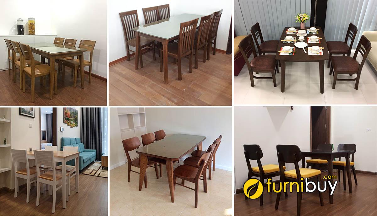 Cửa hàng bàn ghế ăn Thanh Xuân đẹp giá rẻ