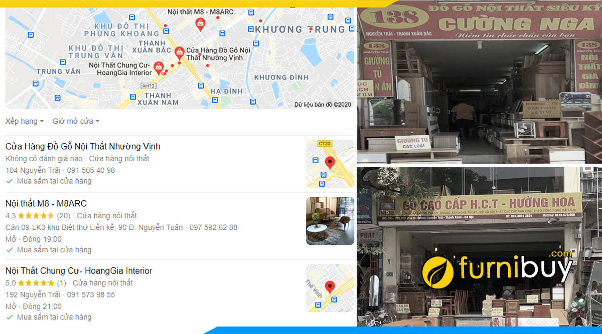 Cửa hàng kệ tivi Thanh Xuân ở đâu?