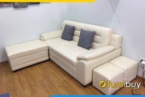Sofa vang nho mini hien dai ke phong khach FB 0991