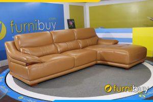 Ghe sofa da goc vien go sang trong FB 120602