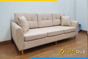 Ghe sofa vang ni 3 cho dep fb 20207