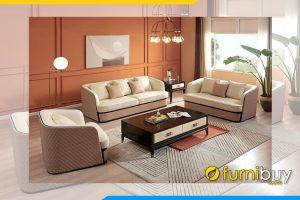 Bo ghe sofa hoang gia cho phong khach rong FB Bo 8906