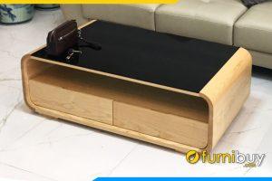 Ban tra sofa go chu nhat mau soi trang FB BTR 173