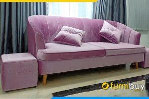 Ghe sofa tan co dien don gian sang trong FBTCD 7901