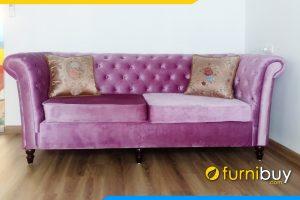 Ghe sofa tan co dien dep lam theo yeu cau FBtcd 7902