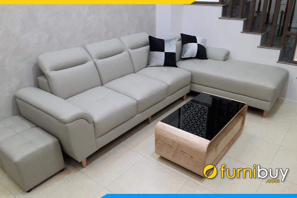 sofa phong khach nha pho dang chu l boc da