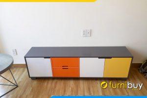 Hình ảnh Mẫu kệ tivi đơn giản giá rẻ FBK012
