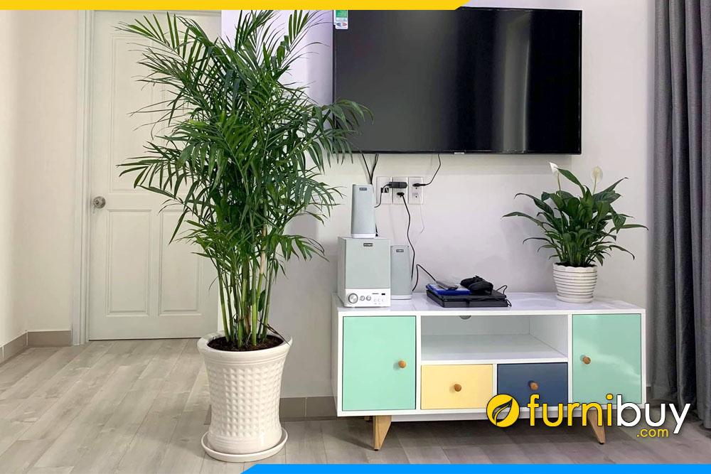 Hình ảnh Kệ tivi phòng khách 1m nhỏ FBK010