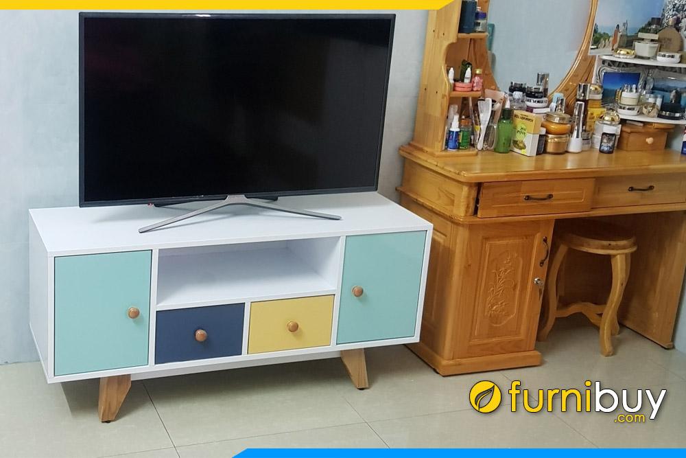 Hình ảnh Kệ tivi phòng khách 1m2 FBK010 thực tế