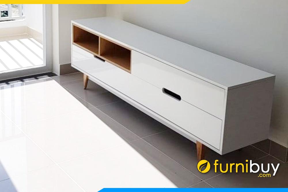 Kệ tivi phòng khách chung cư giá rẻ FBK009 đơn giản