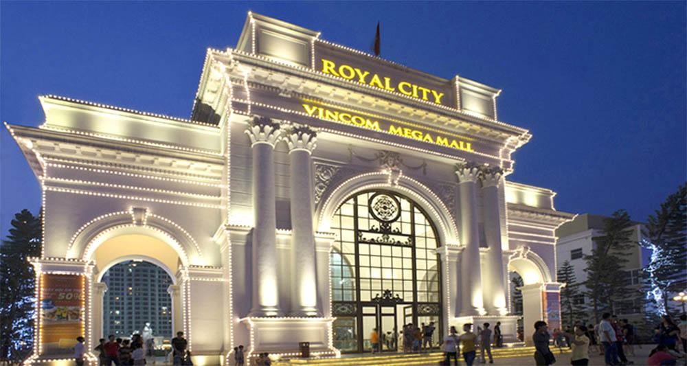 Hình ảnh khu đô thị Royal City ở quận Thanh Xuân, Hà Nội