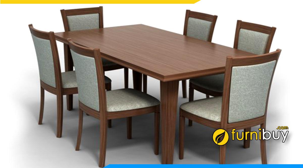 Mẫu bàn ghế ăn đẹp gợi ý cho khách hàng ở Lạng Sơn