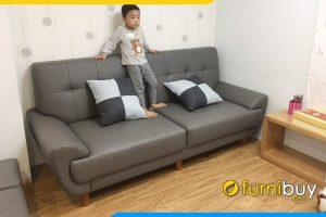 mau ghe-sofa-vang-da-nho-gon-fb227