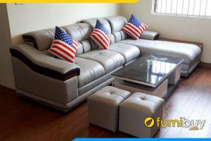 mau sofa da cho phong khach sang trong fb179