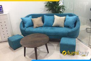 mau sofa vang dep nho gon fb135
