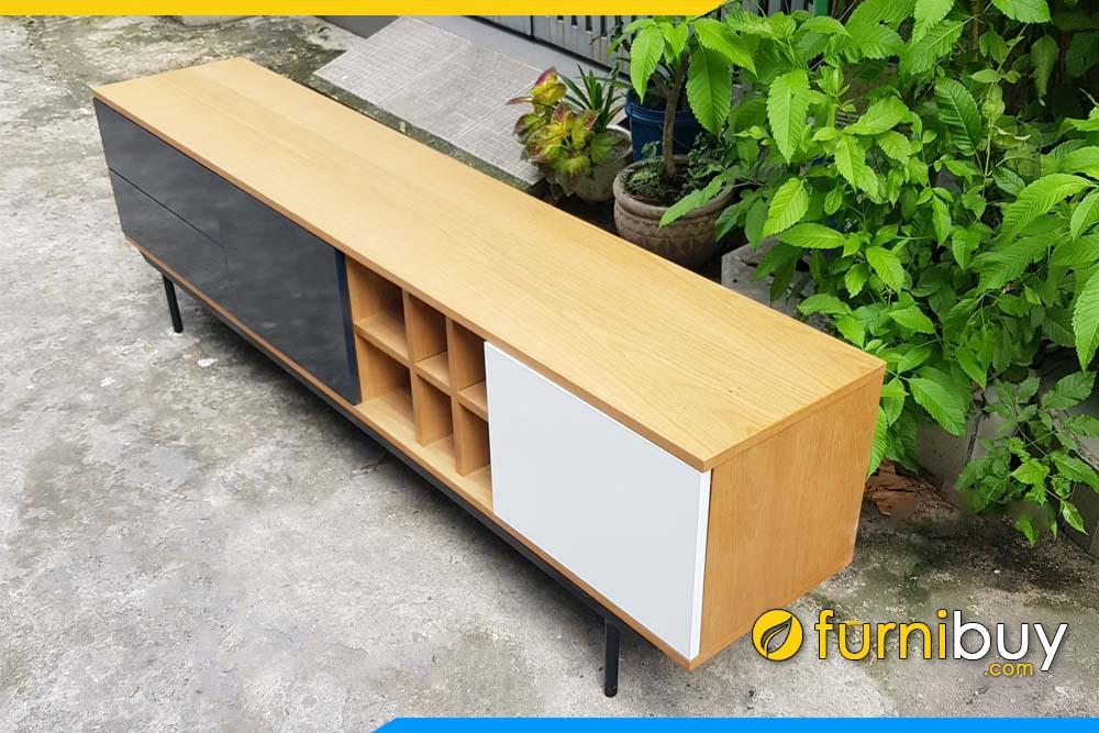 Sản phẩm kệ tivi gỗ đơn giản hiện đại FBK013