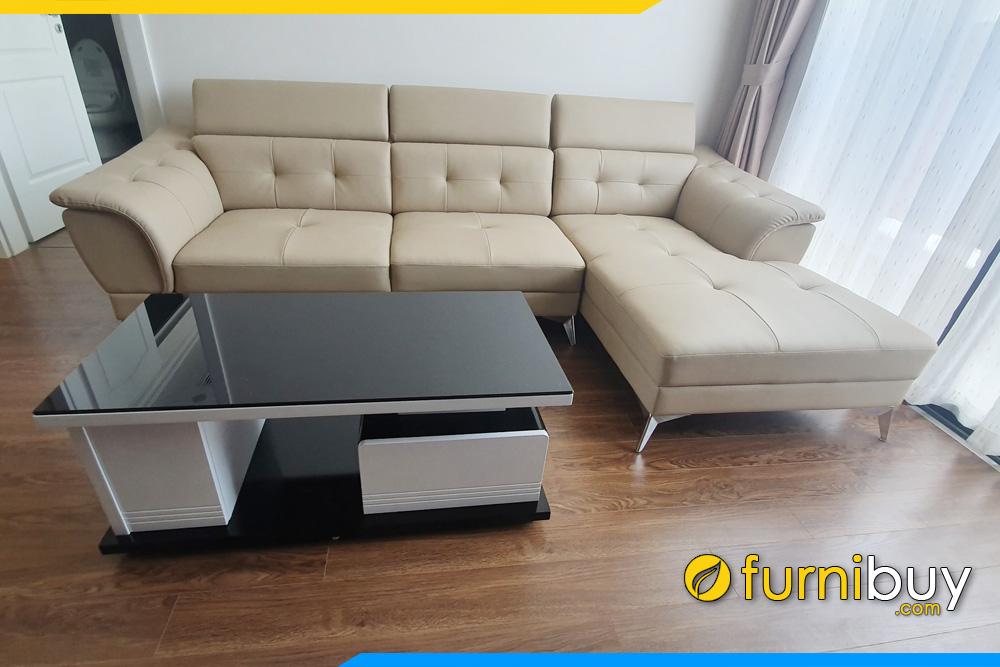 sofa da cho phong khach hien dai fb271