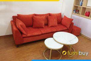 sofa vang 3 cho boc ni do dep fbv226