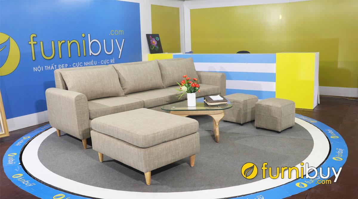 sofa vang dai 3 cho ngoi cho nha chung cu fb4020